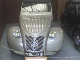 la 2 CV de 1950